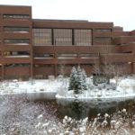 CHS office in winter
