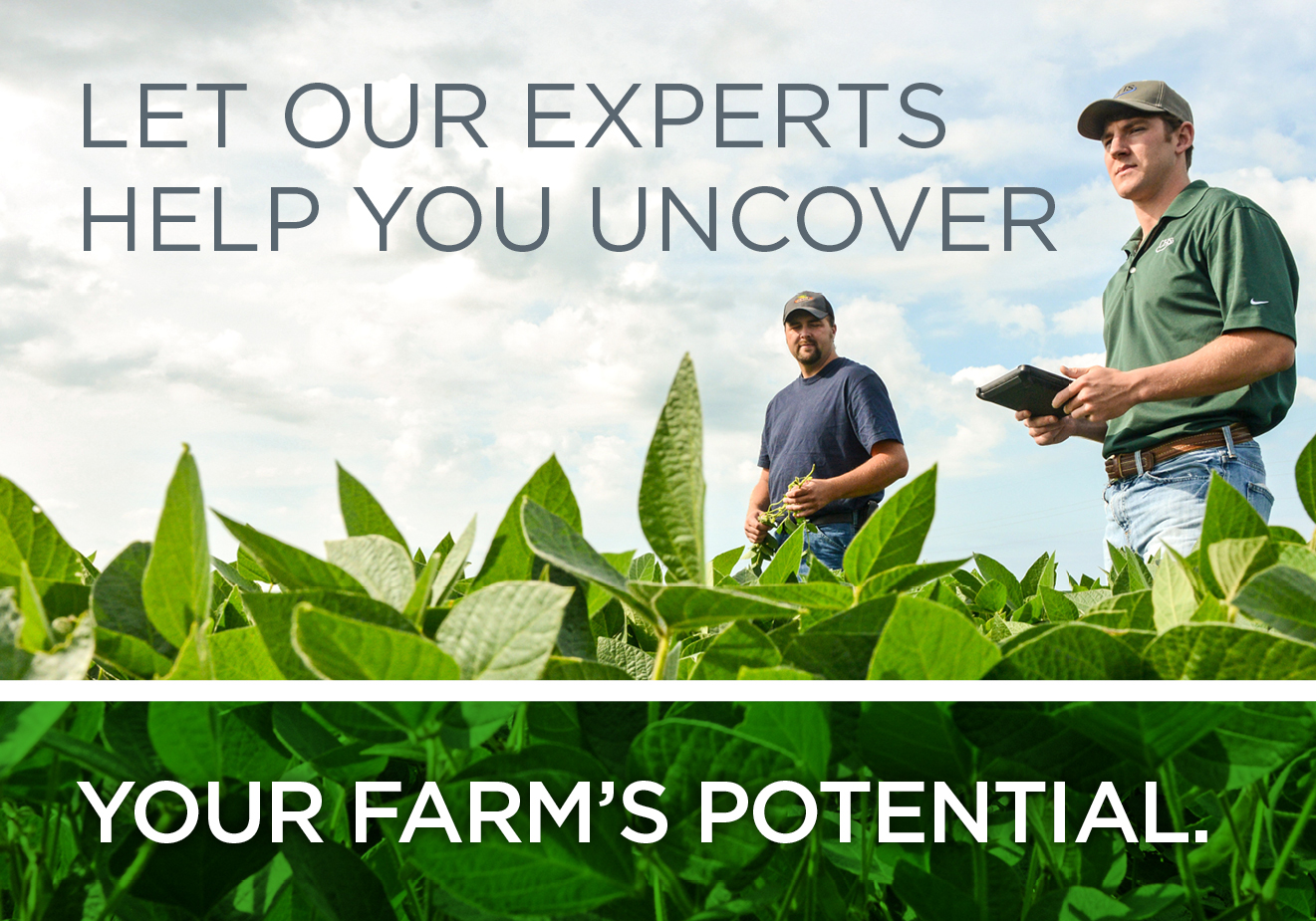 Let our experts help uncover your farm's potential
